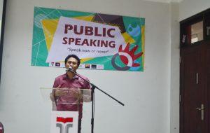 Public Speaking Speak Now